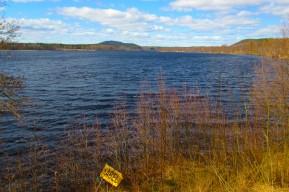 Rådasjön från Södra gärdet mot norr