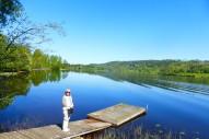 Södra Väsby, Lidsjön från brygghuset